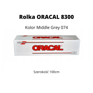 Rolka Oracal 8300 | 100cm | Middle Gray