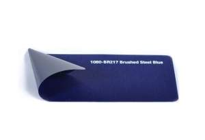1080 - BR217 | Brushed Steel Blue | 3M Wrap Film