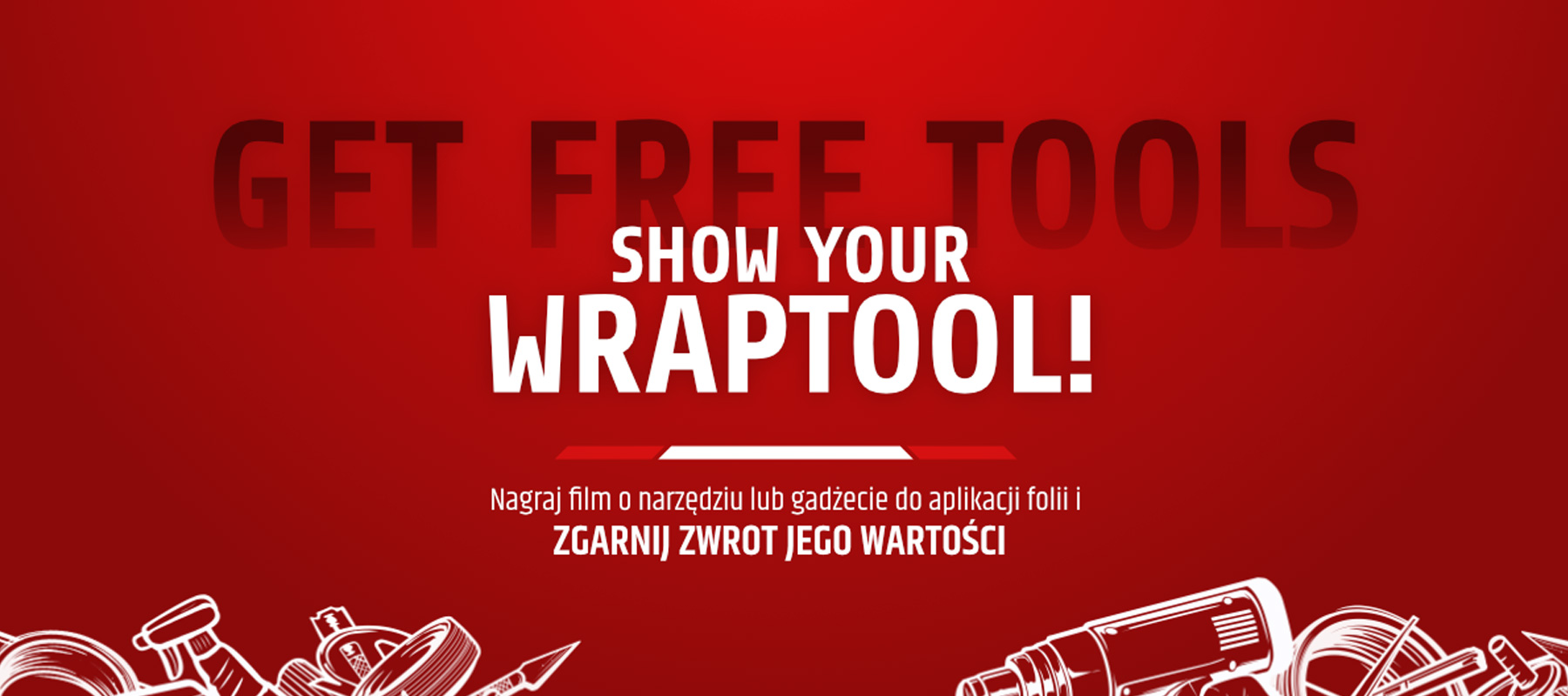 Promocja Show Your WrapTool !